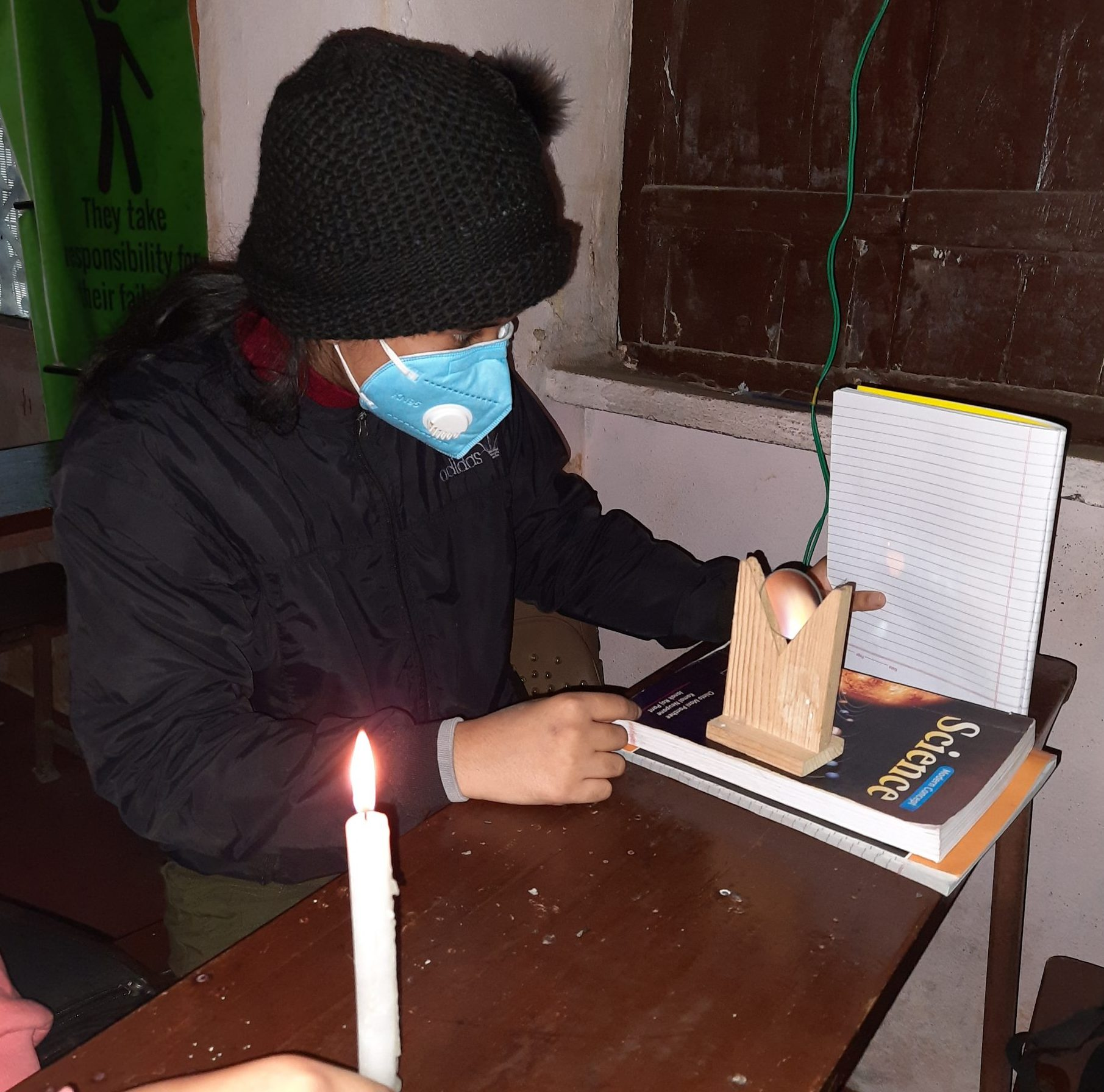 Students in Practical